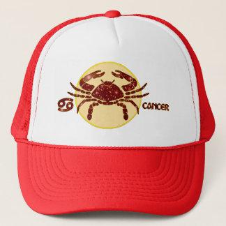 Cancer Zodiac Ruby Designer Modern Trucker Hat