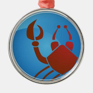 Cancer Zodiac Sign Christmas Ornament
