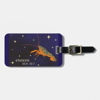 Cancer zodiac sign Luggage Tag