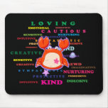 Cancer Zodiac Sign Traits Mouse Pad