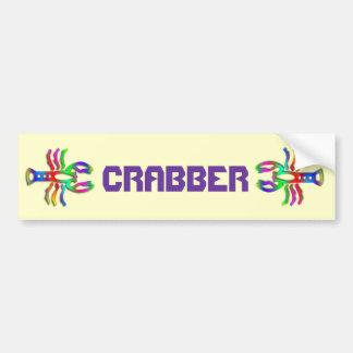 Cancer Zodiac Star Sign Rainbow Color Bumper Sticker