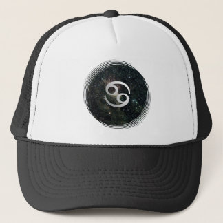 Cancer Zodiac Star Sign Universe Trucker Hat