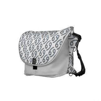 Cancer Zodiac Symbol Element Messenger Bag