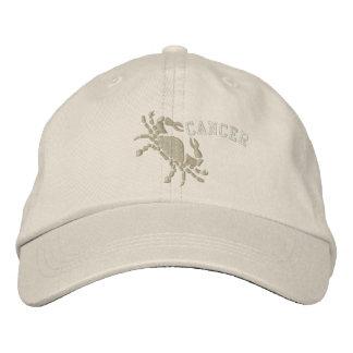 Cancer Zodiac Symbol Embroidery June 21 - July 22 Baseball Cap