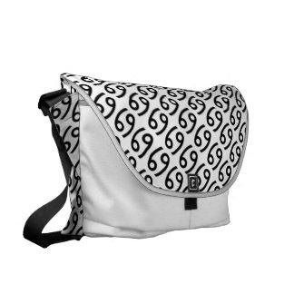 Cancer Zodiac Symbol Standard Courier Bags