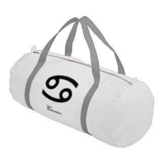 Cancer Zodiac Symbol Standard Gym Duffel Bag