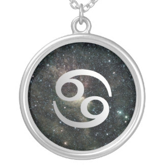 Cancer Zodiac Universe Sterling Silver Jewelry