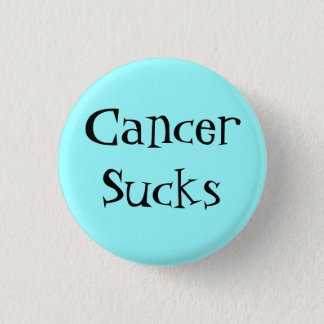 CancerSucks 3 Cm Round Badge