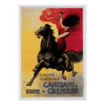 Canciani & Cremese Vintage Wine Ad Art Posters