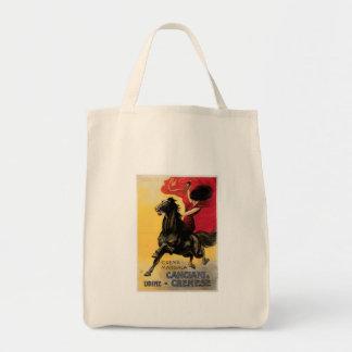 Canciani & Cremese Vintage Wine Ad Art Tote Bag