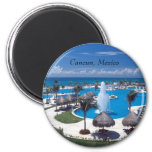 Cancun, Cancun, Mexico 6 Cm Round Magnet