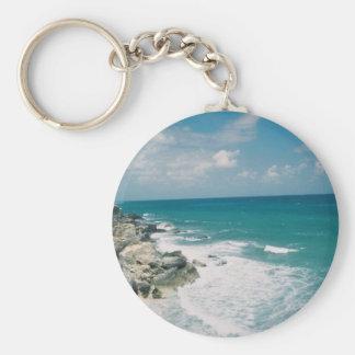 Cancun Coast Key Ring
