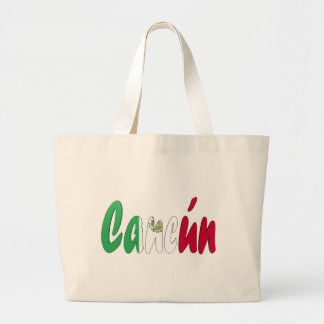 Cancun, Mexico Large Tote Bag