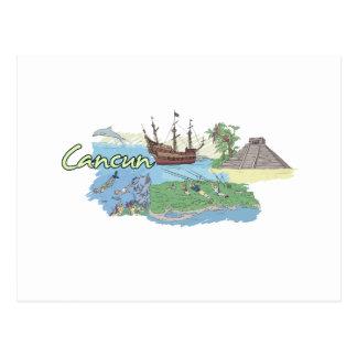Cancun - Mexico.png Postcard