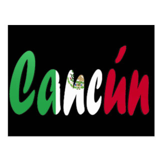 Cancun, Mexico Postcard