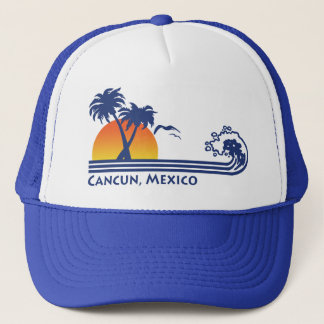 Cancun Mexico Trucker Hat