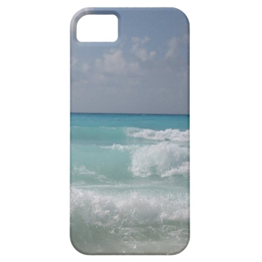 Cancun Waves Phone 4 Case