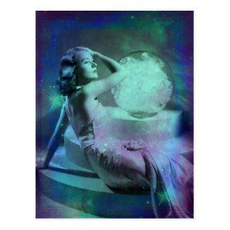 Candace - Blue Green Dream Postcard