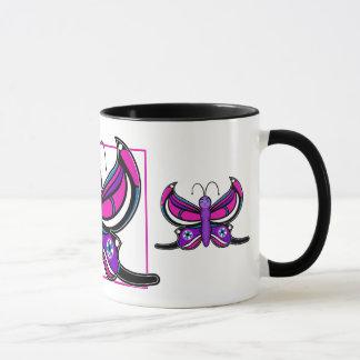Candi Toon Butterfly Mug