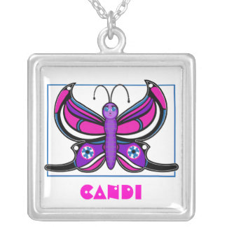 Candi Toon Butterfly Necklace