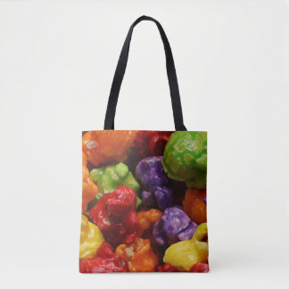Candied Popcorn Tote Bag