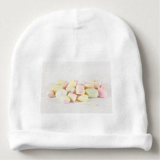 Candies marshmallows baby beanie