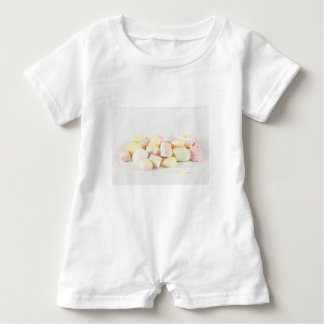 Candies marshmallows baby bodysuit