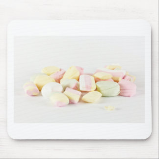 Candies marshmallows mouse mat