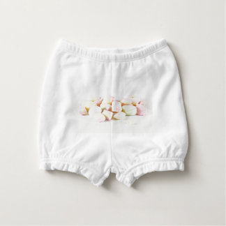 Candies marshmallows nappy cover