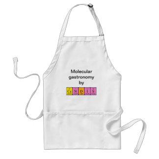 Candis periodic table name apron