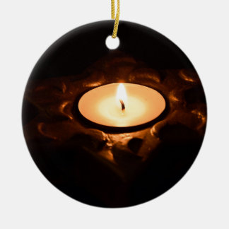 Candle Christmas Ornament