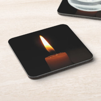 Candle Flame Drink Coaster