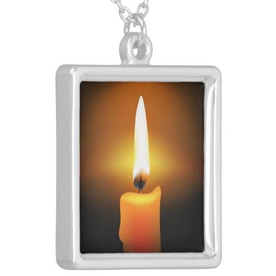 Candle Flame Necklace