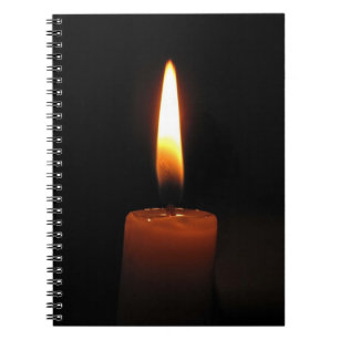 Candle Flame Notebook