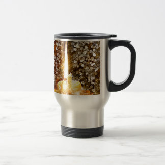 Candle Flame Travel Mug