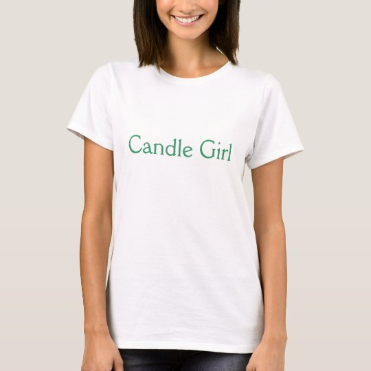 Candle Girl T-Shirt