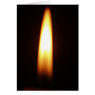 Candle Greeting Card- Blank Inside Greeting Card