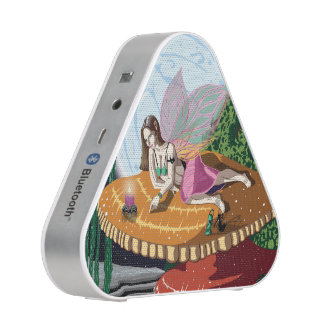 Candle Light Fairy Bluetooth Silver Speakers
