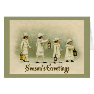 Candle of Christmas Greeting Card