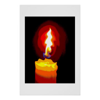 candle of hope poster