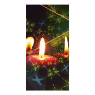 Candle Picture Card