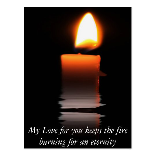 Candle Power Postcard