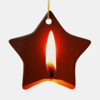 Candle star ornament