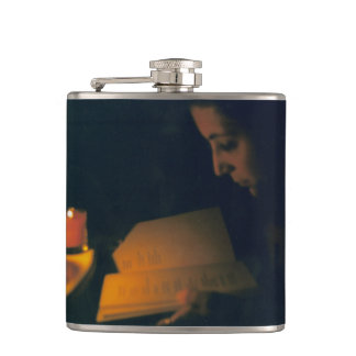 Candlelight Girl Hip Flask