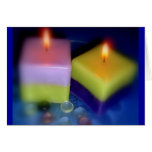 candlelight greeting cards