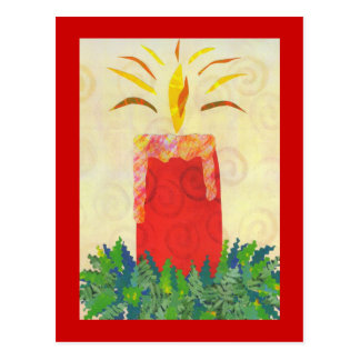 Candlelight s Gleaming postcard