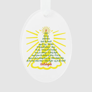 Candlelight Song List Ornament