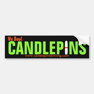 Candlepin Bumper Sticker