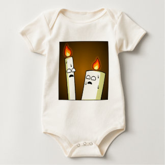 Candles Baby Bodysuit
