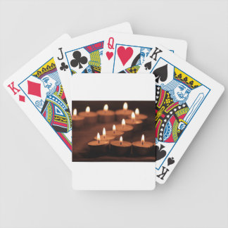 Candles Bicycle Playing Cards